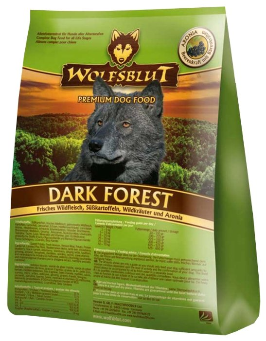 Корм для собак Wolfsblut Dark Forest