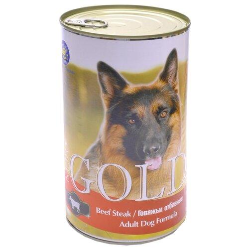Влажный корм для собак Nero Gold говядина 1.25 кг