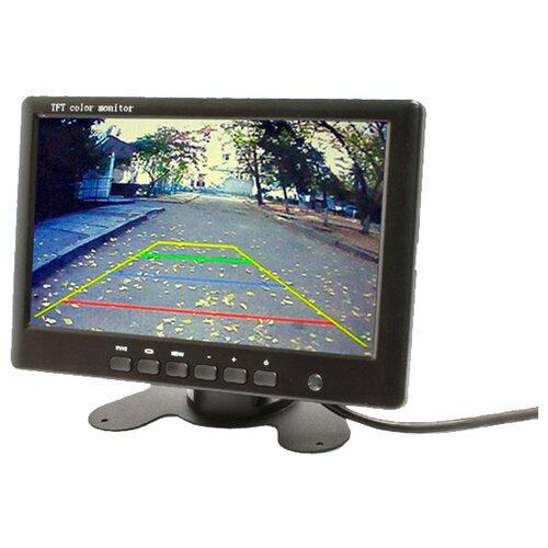 Автомобильный монитор AVEL AVS0704BM черный