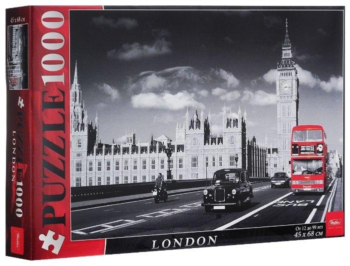 Пазл Hatber Лондон (1000ПЗ2_08403), 1000 дет.