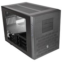 Thermaltake Case Tt Core X9 CA-1D8-00F1WN-00 E-ATX Cube win black USB 3.0 no PSU