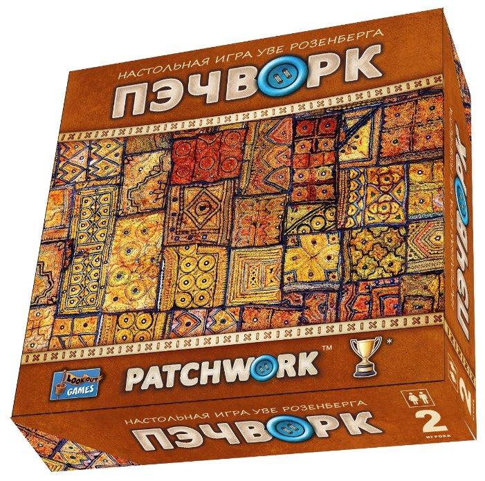 Настольная игра Нескучные игры Пэчворк