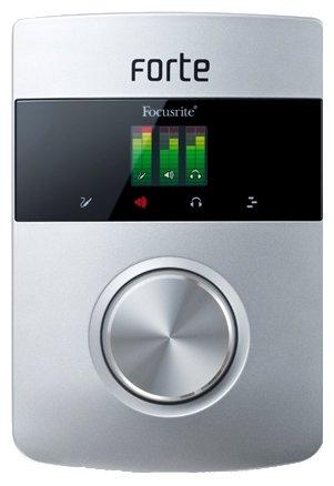 Внешняя звуковая карта Focusrite Forte