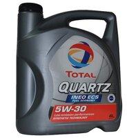 Масло моторное синтетика Total Quartz Ineo ECS 5W30 4L