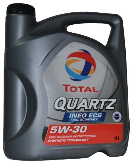 Моторное масло TOTAL Quartz INEO ECS 5W30 4 л
