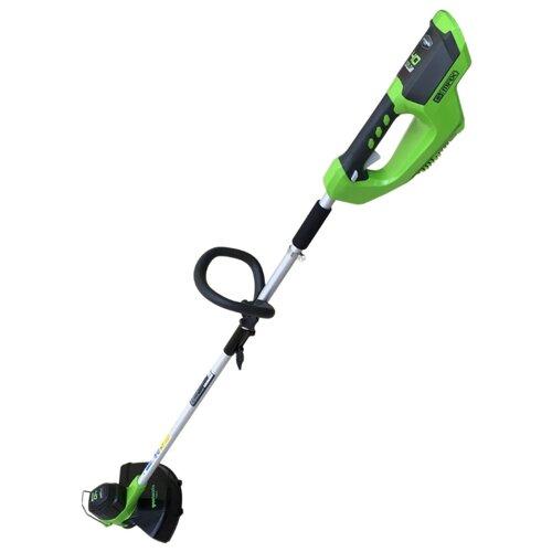 Триммер аккумуляторный greenworks 2101507 GD40LT30 триммер greenworks gс82 bcbk5 2103107 ub