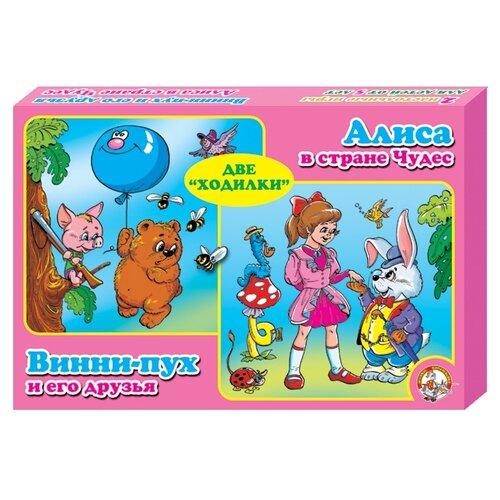 Набор настольных игр Десятое королевство Алиса в стране чудес и Винни-Пух и его друзья 00045