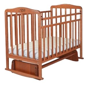 Кроватка-маятник Sweet Baby Ennio Nuvola Bianca