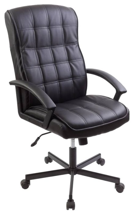 Кресло руководителя Бюрократ CH-823AXSN (черный) - Стул офисный, компьютерный