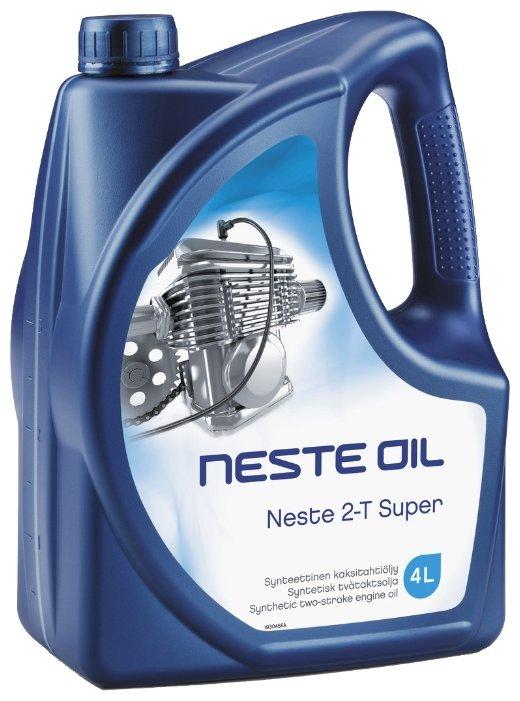 Масло для садовой техники Neste 2-T Super 4 л