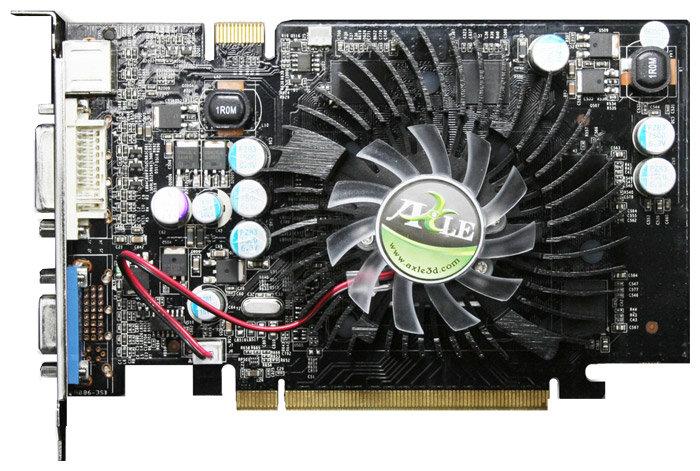 Axle GeForce 8500 GT 460Mhz PCI-E 256Mb 1400Mhz 128 bit DVI TV YPrPb