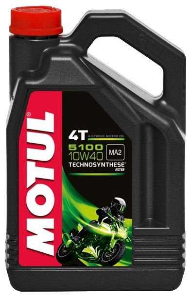 Моторное масло Motul 5100 4T 10W40 5 л