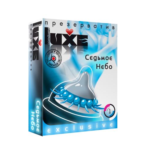 Презервативы LUXE Exclusive Седьмое Небо 1 шт. детский матрас седьмое небо султан фаворит