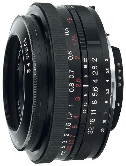 Объектив Voigtlaender 40mm f/2.0 SLII Ultron Pentax K