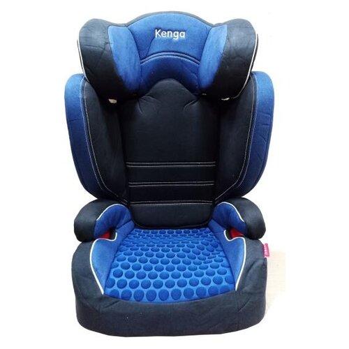 Автокресло группа 2/3 (15-36 кг) Kenga BH2311i premium Isofix, синий группа 1 2 3 от 9 до 36 кг kenga bh 12312i isofix