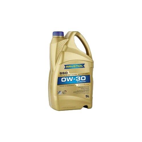 Моторное масло Ravenol Super Synthetic SSO SAE 0W-30 5 л