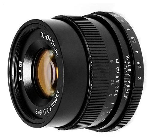 Объектив 7artisans 35mm f/2 Fuji X