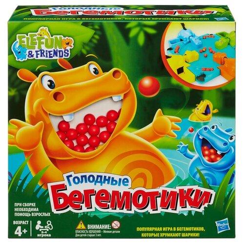 Купить Настольная игра Hasbro Игры Голодные бегемотики 98936, Настольные игры