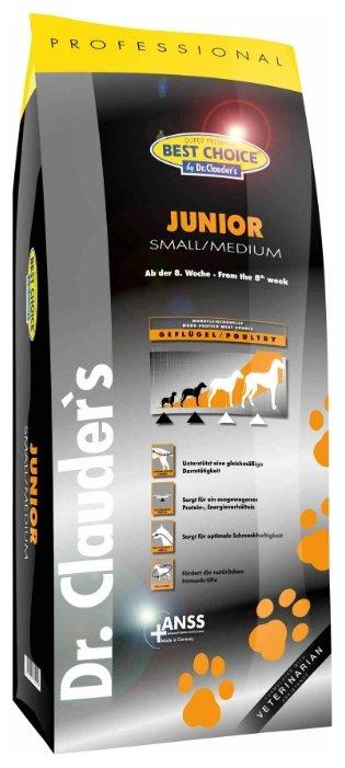 Корм для собак BEST CHOICE Junior Small/Medium breed