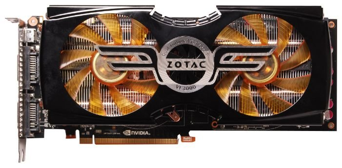 ZOTAC GeForce GTX 480 756Mhz PCI-E 2.0 1536Mb 3800Mhz 384 bit 2xDVI Mini-HDMI HDCP
