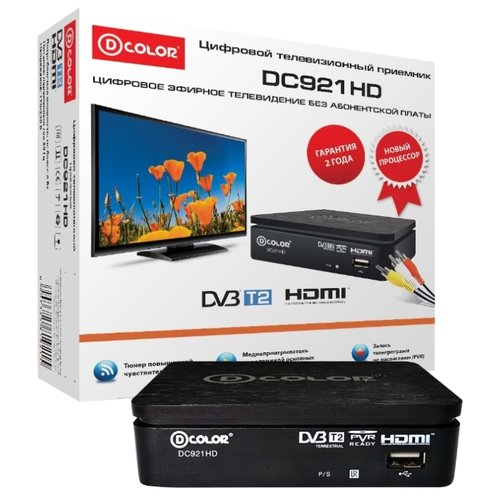 Внешний TV-тюнер D-COLOR DC921HD