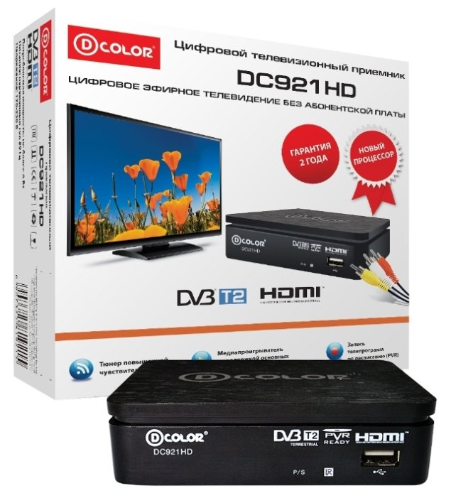 D-COLOR TV-тюнер D-COLOR DC921HD