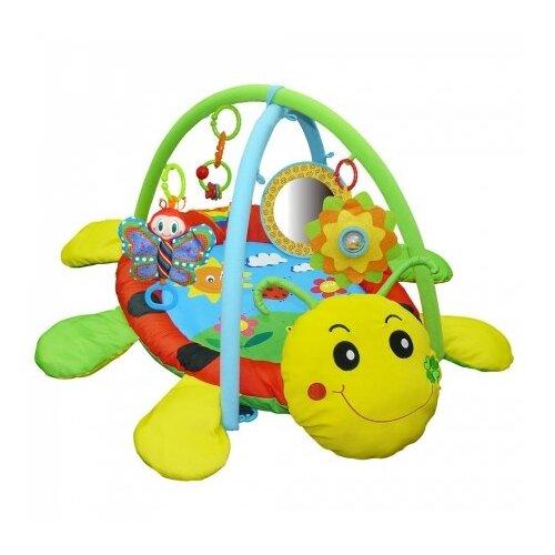 Купить Развивающий коврик Biba Toys Божья коровка (BP669), Развивающие коврики