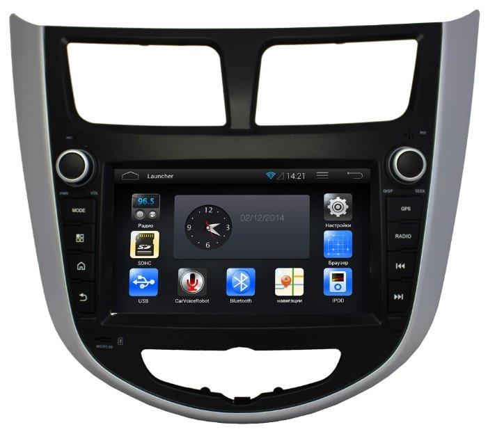 Автомагнитола CA-FI DL4801000-0020 Hyundai Solaris