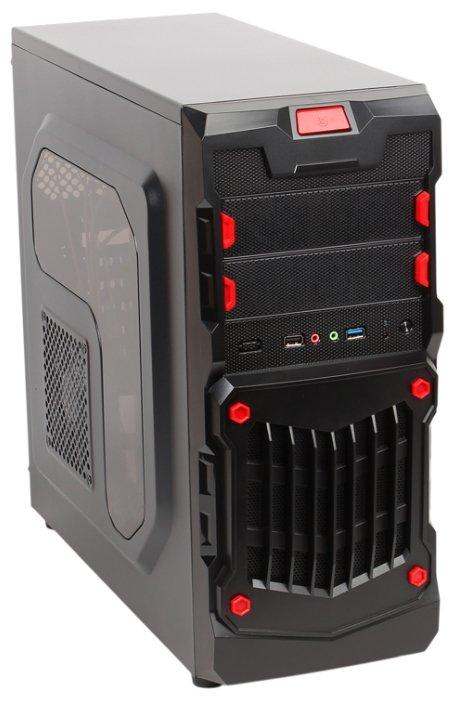 3Cott Компьютерный корпус 3Cott 1818 w/o PSU Black