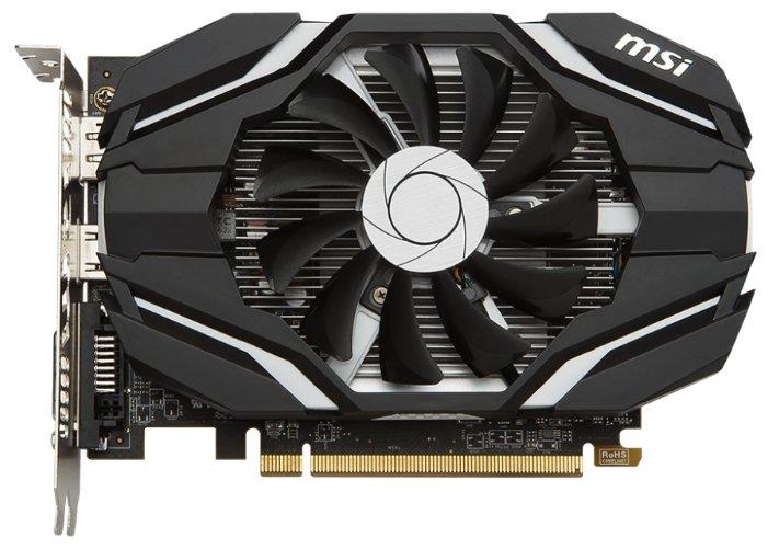MSI Radeon RX 460 1210Mhz PCI-E 3.0 2048Mb 7000Mhz 128 bit DVI HDMI HDCP