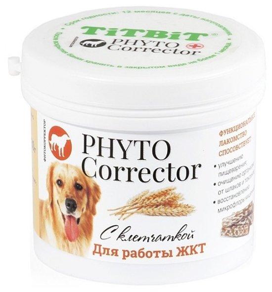 Лакомство для собак Titbit Фитокорректор с клетчаткой