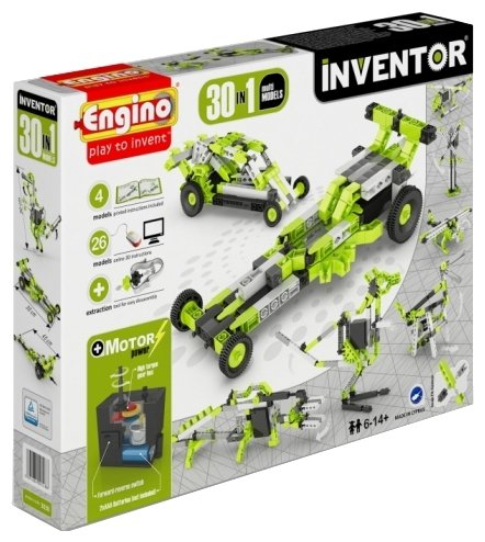 Электромеханический конструктор ENGINO Inventor Motorized 3030-30