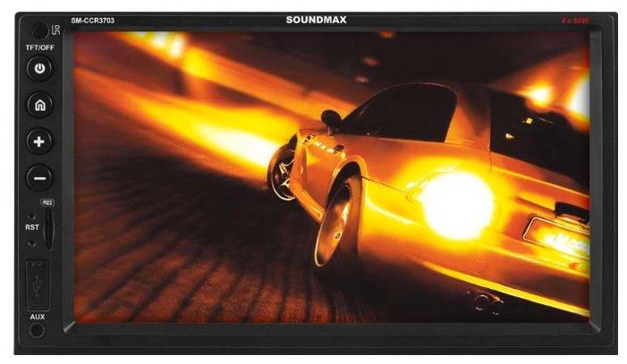 Автомагнитола SoundMAX SM-CCR3703