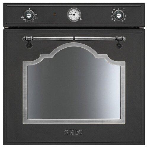 Электрический духовой шкаф smeg SF750AS электрический духовой шкаф smeg sf6922npze1