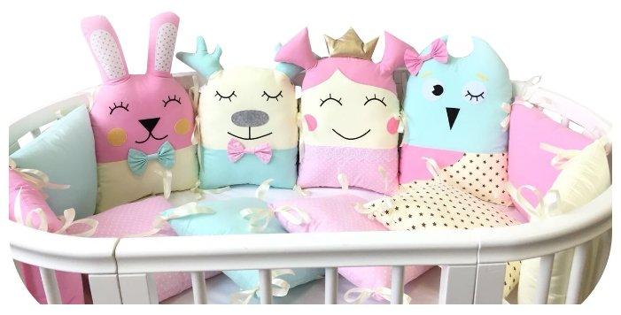 Lady Di Baby комплект бортиков в кроватку Настенька