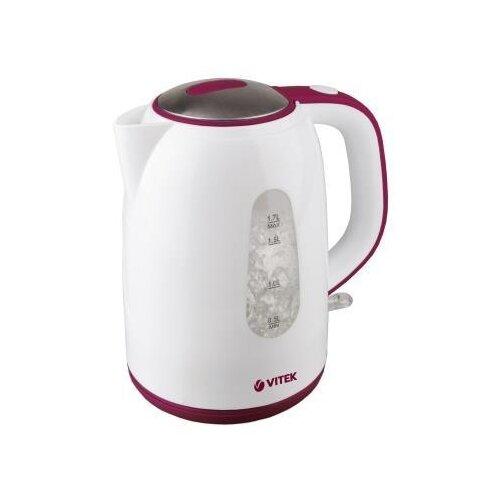 Чайник VITEK VT-7006, белыйЭлектрочайники и термопоты<br>