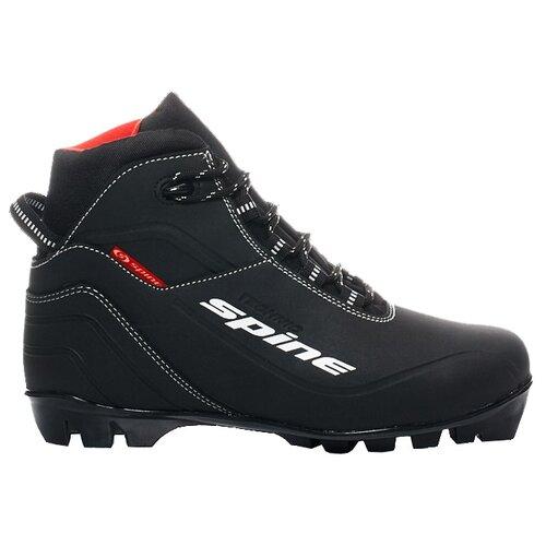 Ботинки для беговых лыж Spine Technic 95 черный 35