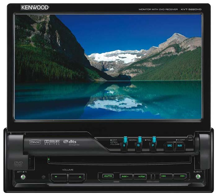 KENWOOD KVT-522DVD