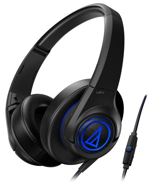 Audio-Technica ATH-AX5iS, Black наушники
