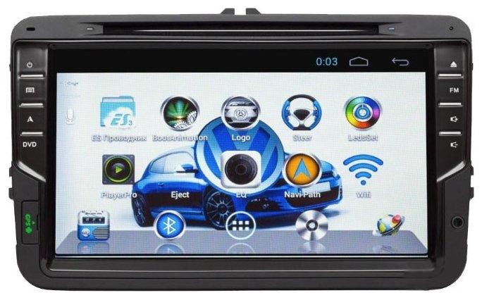 SIDGE Volkswagen TOURAN (2003-2011) Android 4.0