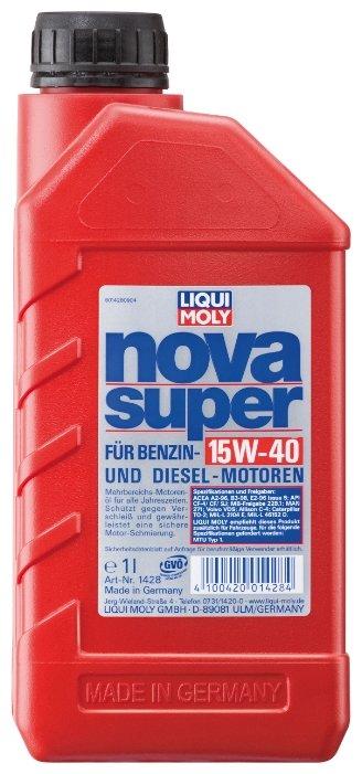 Моторное масло LIQUI MOLY Nova Super 15W-40 1 л