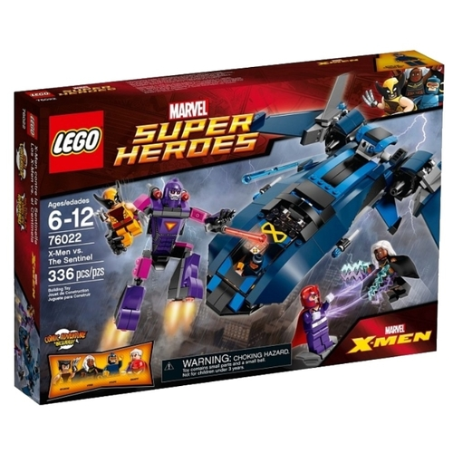 Конструктор LEGO Marvel Super Heroes 76022 Люди Икс против Стража