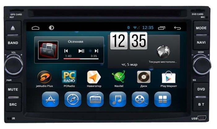 FarCar s180 Nissan на Android 4.4 (q001)