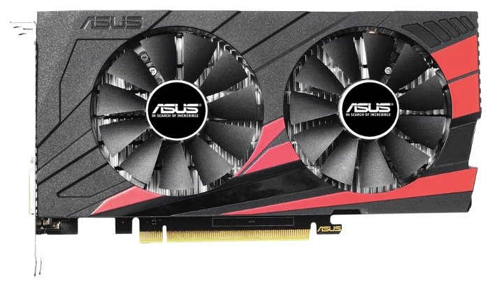 ASUS GeForce GTX 1050 Ti 1341Mhz PCI-E 3.0 4096Mb 7008Mhz 128 bit DVI HDMI HDCP Expedition OC