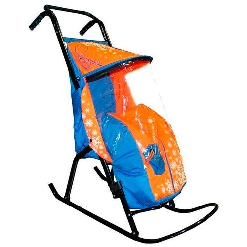 Купить Санки-коляска RT Снегурочка-2-Р1, Санки и аксессуары