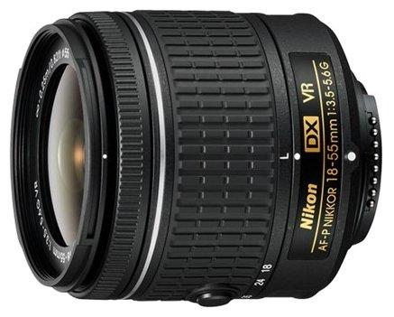 Nikon Объектив Nikon 18-55mm f/3.5-5.6G AF-P VR DX