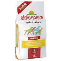 Сухой корм для собак крупных пород Almo Nature Holistic Adult Dog Large Chicken and Rice (курица и рис), 12 кг