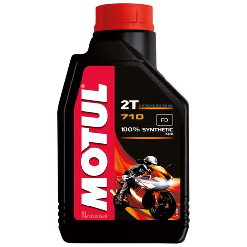 Фото - Моторное масло Motul 710 2T 1 л масло полусинт patriot super active 2t 0 946 л