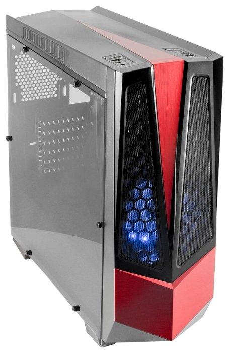 Компьютерный корпус 3Cott G10 w/o PSU Black