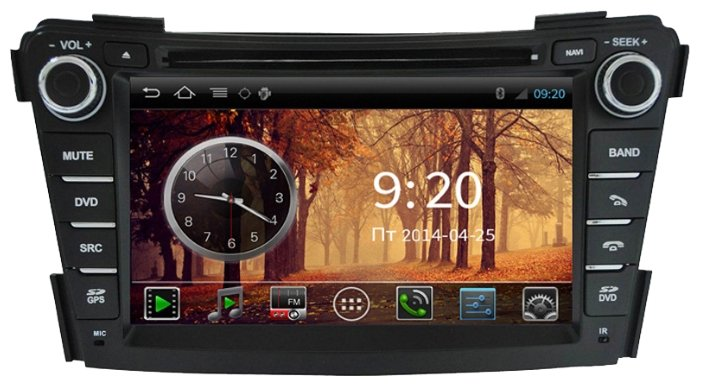 FarCar s150 Hyundai I40 на Android (i172)